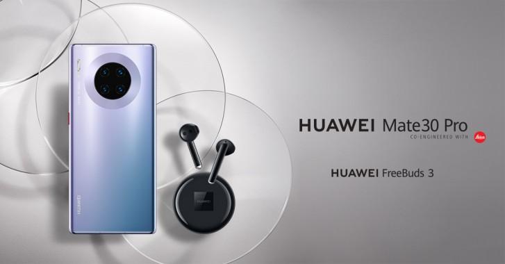 Huawei Mate 30 Pro EU launching in Eastern Europe for €1000