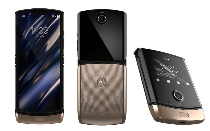 Motorola to bring Blush Gold version of the Razr