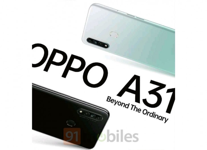 Oppo A31 to arrive in India by next week