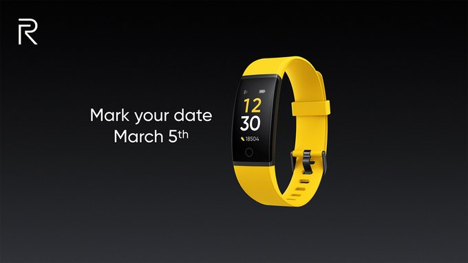 Realme teases smartband  and a smartwatch